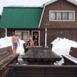 Русская баня на базе отдыха в Вологде и Вологодской области
