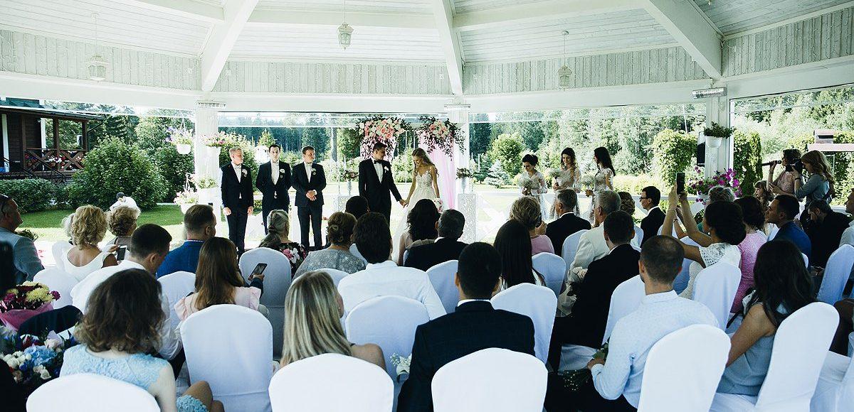 Банкетная ротонда - Свадьба с выездной регистрацией Вологда. Банкет Вологда