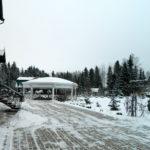 Отдых зимой на турбазе Резиденция Комела