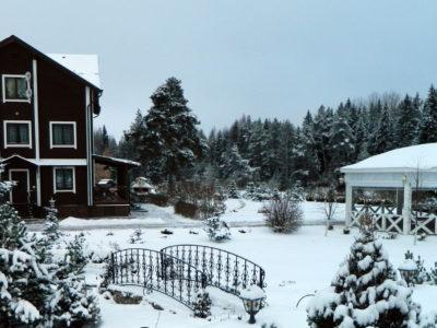 База отдыха Резиденция Комела - Зимний отдых на природе