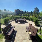 Веранда на базе отдыха Резиденция Комела