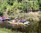 Сплав на лодках и байдарках по реке Комела - База отдыха Вологда