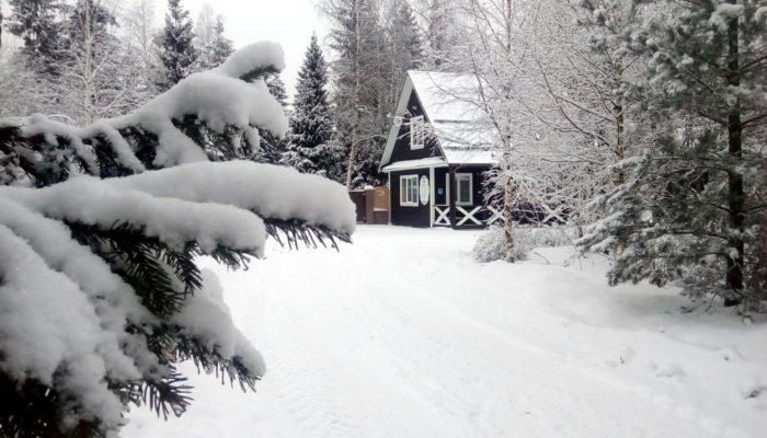 Коттедж Романтик (Отдых Зимой)